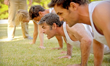 10 or 20 60-Minute Boot-Camp Classes at Gold Medal Fitness (Up to 77% Off)