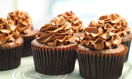 Cupcakes and Coffee for Two or Four at Taste & See Gourmet Cupcakes (Up to 42% Off)
