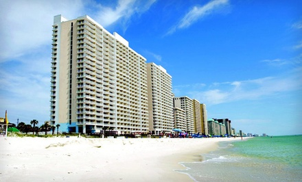groupon daily deal - Stay at Majestic Beach Resort in Panama City Beach, FL, with Dates into July