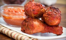 Indian Cuisine for Two or Four at Kebab & Biryani (Up to 53% Off). Three Options Available.