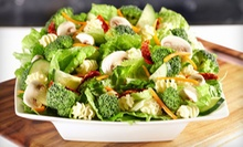 $15 for Three Groupons, Each Good for $10 Worth of Salads, Wraps, and Sandwiches at Saladworks ($30 Total Value)