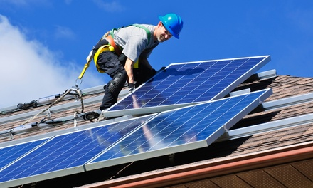 $8,400 for Home Solar Panel System and LED Lighting Retrofit from CR Resource Contracting Inc. ($16,800 Value)