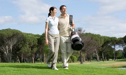 18-Hole Round of Golf for Two or Four with Cart Rental at Emerald Isle Golf (Up to 54% Off)