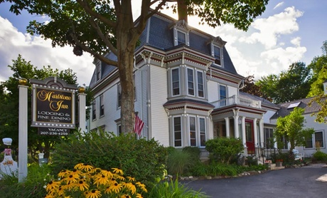 Fine Dining at Four Diamond B&B near Maine Coast