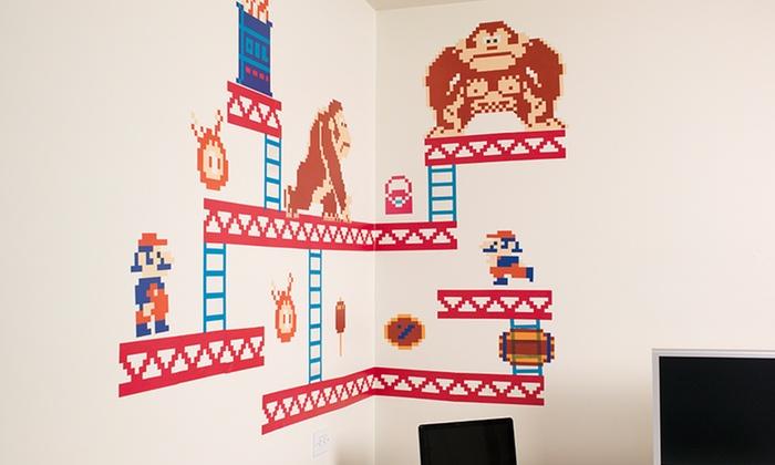 Donkey Kong Or Mario Wall Stickers Groupon