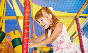 Indoor-play-facility, Tokens, And Meals At The Little Pod (up To 44% Off). Four Options Available.