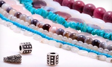 Mommy and Me Jewelry-Making Class or Ladies' Night Party for Two or Four at TiaMarie Beading Studio (Up to 62% Off)