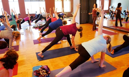 One or Two Months of Unlimited Yoga Classes at YogAsylum (Up to 60% Off)