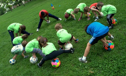 Four Kids' Soccer Classes for One or Two Kids at Soc Roc (Up to 52% Off)