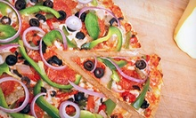 Pizza, Sandwiches, and Appetizers at Lil Rizzo's (Up to 56% Off). Three Options Available.