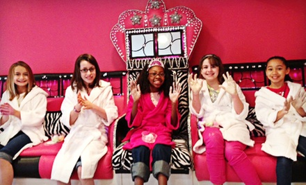 $149 for a Girls' Spa-Themed Party Package for Up to Five Kids at Pink Carpet Glam Girl ($299 Value)