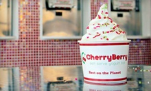 $10 for $20 Worth of Frozen Yogurt and Toppings at CherryBerry
