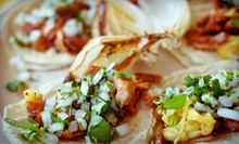 Organic Mexican Cuisine for Lunch or Dinner or Five Smoothies at Tortilla Maria (Up to 57% Off)