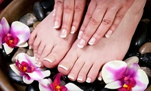 One or Two Mani-Pedis, or One Shellac Mani-Pedi at Natty's Hair and Nails (Up to 53% Off)