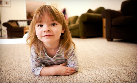 Three or Five Rooms of Carpet Cleaning, or Cleaning of Assorted Surfaces from First Class Carpet Service (Up to 71% Off)