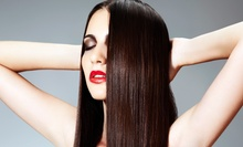 Haircut with Conditioning or Express Keratin Treatment, or Express Keratin Treatment at Salon Charisse (Up to 62% Off)