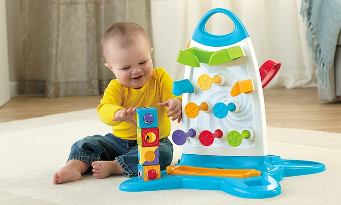 Fisher Price Roller Blocks Play Wall Groupon