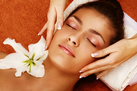 One or Three Custom Facials at Skin by Angie Lorae at Studio DeVine (Up to 53% Off)