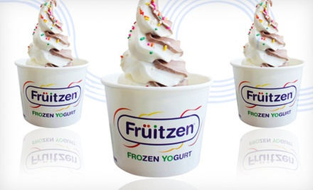 $5 for $10 Worth of Frozen Yogurt at Fruitzen Frozen Yogurt