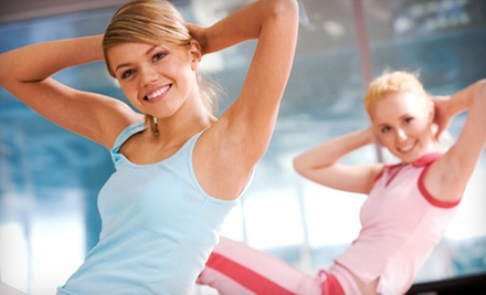 One or Three Months of 24-Hour Women&#x27;s Gym Access and Group Classes at Lady of America (Up to 73% Off)