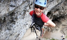 $99 for a Full-Day Outdoor Beginners' Rock-Climbing Course from Calgary Climbing Centre ($208.95 Value)