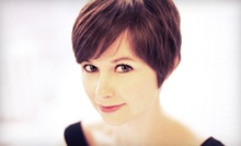 Haircut, Style, and Conditioning with Optional Single-Process Color at Salon C International (Up to 64% Off)