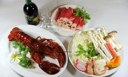 Shabu-Shabu and Cajun Seafood at King's Shabu Shabu (Up to 42% Off). Two Options Available.