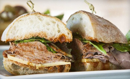 Sandwiches and Beer for Two or Four at Preserve Public House (Up to 54% Off)