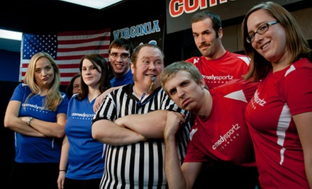 $24 for an Improv Comedy Show for Four at ComedySportz Improv Theatre (Up to $44 Value)