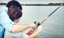 Three-Hour Fishing Charter for One, Two, or Four from Gone Fishin' Bait and Tackle (Up to 62% Off)