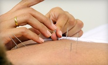 One or Three Acupuncture Treatments with Consultation at Way of Wellness (Up to 88% Off)