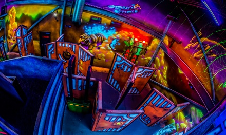 Bowling and Laser Tag Packages at Chipper's Lanes (Up to 51% Off). Five Options Available.