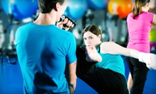Four or Six Kickboxing or Krav Maga Classes at DP Martial Arts Academy (68% Off)