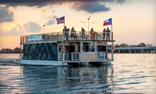 "$15 for a Sunset Cruise Aboard the ""Harbor Lights"" for One from Sail with Scott LLC ($30 Value)"