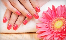 One or Three No-Chip Gel Manicures, or a Classic Manicure and Pedicure at Salon Sophia (Up to 54% Off)