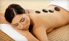 One or Two Hot-Rock and Wood Therapy Massages at EZ Skin Care and Wellness Center (Up to 59% Off)