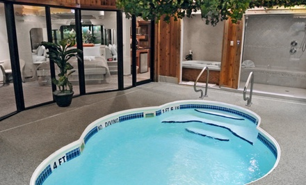 1-Night Stay for Two with Romance Package and One-Year Sybaris Membership at Sybaris – Indianapolis in Indianapolis, IN