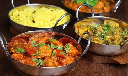 Indian Dinner for Two or Four or $35 for $65 Worth of Indian Food at The Curry Club