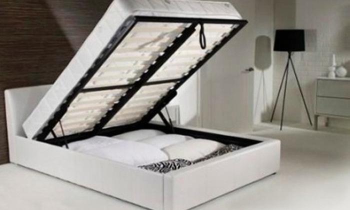 Beds and Mattress World: Ottoman-parisänky säilytystilalla ja Memory Foam -patjalla alk. vain 439€