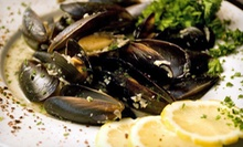 Seafood and Mediterranean Cuisine for Two or Four at Caspian Cafe (Up to 56% Off)
