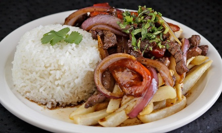 Peruvian Cuisine for Two or Four or More at Tineo Peruvian Bakery & Cuisine (Up to 50% Off)