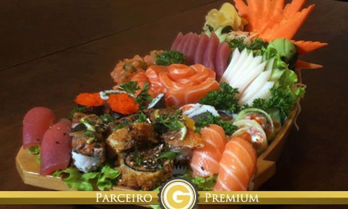 Sushi los Ruas - São Paulo: Sushi los Ruas – Vila Madalena: combinado de 34 ou 68 peças com temaki, salmão grelhado e shimeji, a partir de R$ 39,90