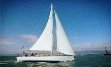 Three-Hour Sunset Sail for Two or Five-Hour Chartered Sail for Up to Six from Capt. Dan Classic Sails (Up to 54% Off)