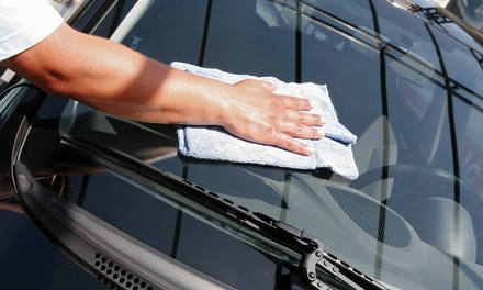 Exterior Mobile Car Wash By Hand with Option of Bumper Touchup from Prestige Services (Up to 75%Off)