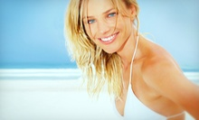 3 Organic Airbrush Spray Tans or 1 Month of Unlimited Tanning at Island Glow Tanning Spa & Boutique (Up to 76% Off)
