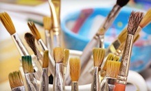 2- or 3-Hour Painting Class for 1 or 2 at Dallas Handmade Arts Market, Inc (51% Off), Plus a Complimentary Wine or Beer