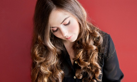 Haircut Package with Optional Highlights or Color from Renae at Sensations Hair Studio (Up to 48% Off)