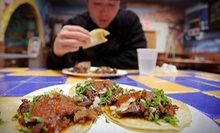 Three or Six $10 Vouchers for Mexican Food at Taqueria Vallarta (Up to 52% Off)
