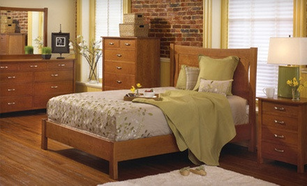 Amish Furniture and Decor at The Granary (Up to 51% Off). Three Options Available.