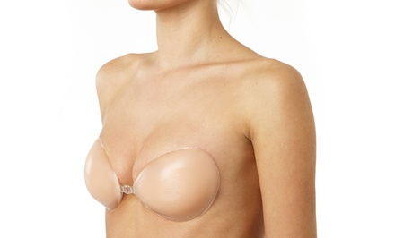 2-Pack of Backless and Strapless Silicone Adhesive Bras